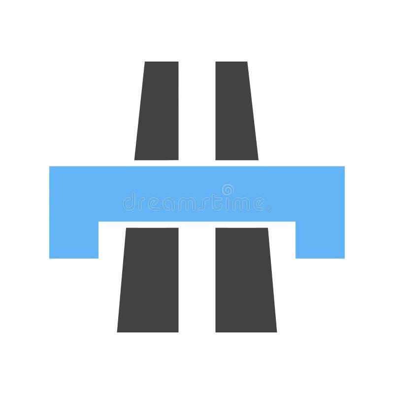 Most, brama, watericon ilustracji