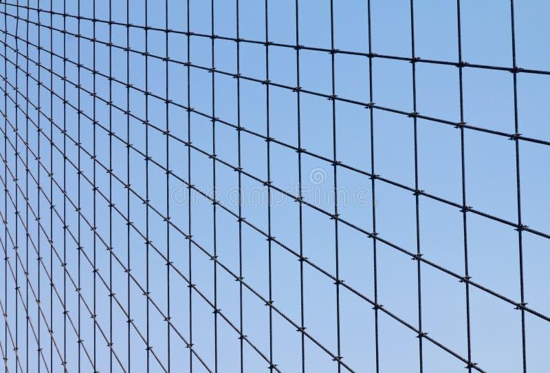 Most Brooklyński Kabla geometryczny Wzór zdjęcie royalty free
