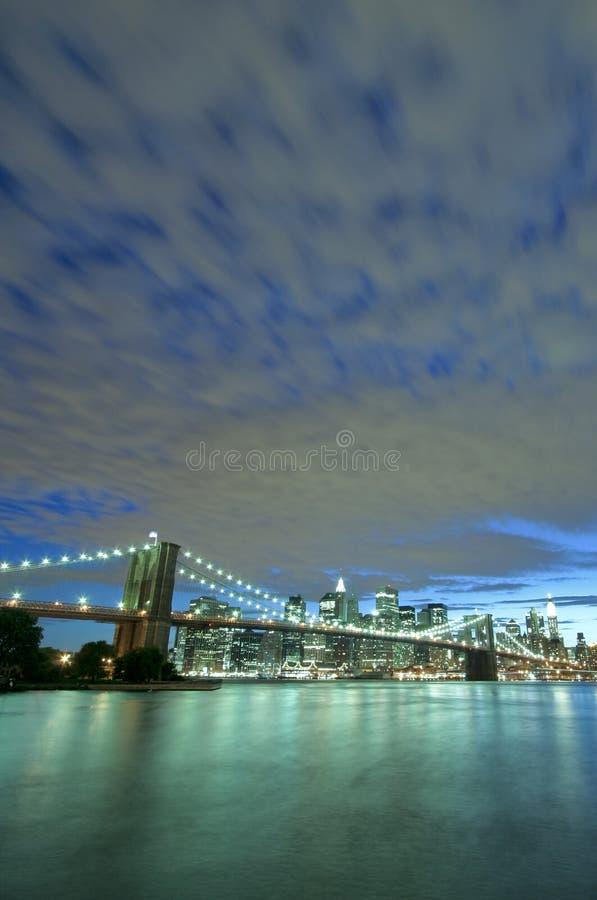 most Brooklyn, nowy jork obraz royalty free