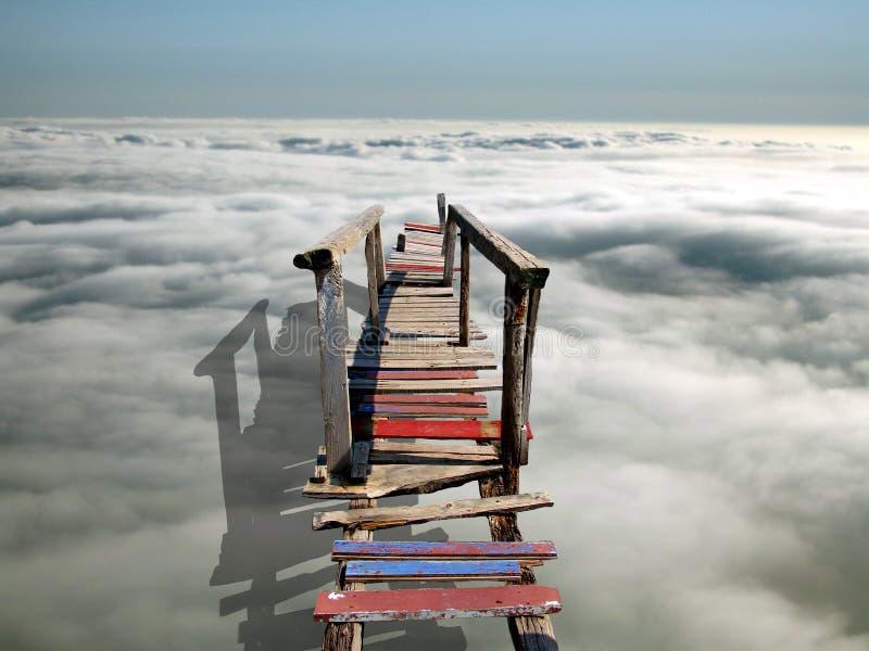 most do nieba zdjęcia stock