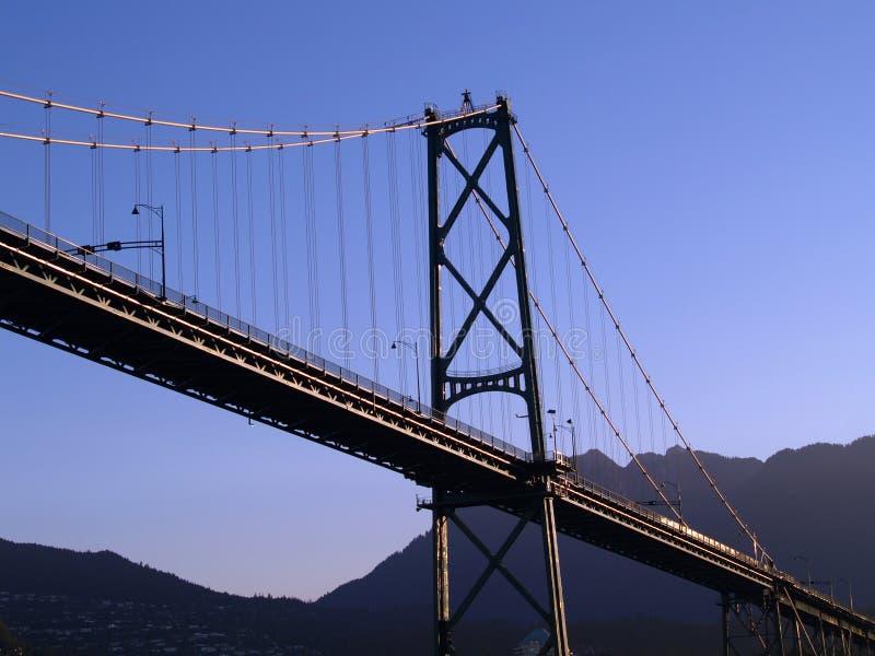 most do Vancouver zdjęcia royalty free