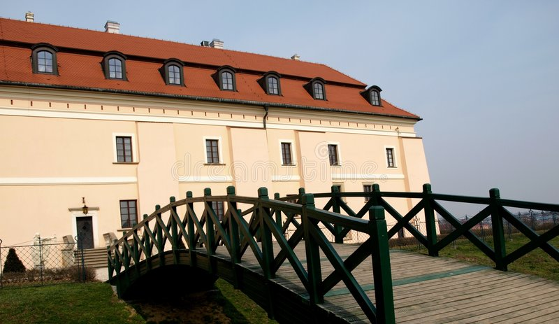 most do zamku obraz stock