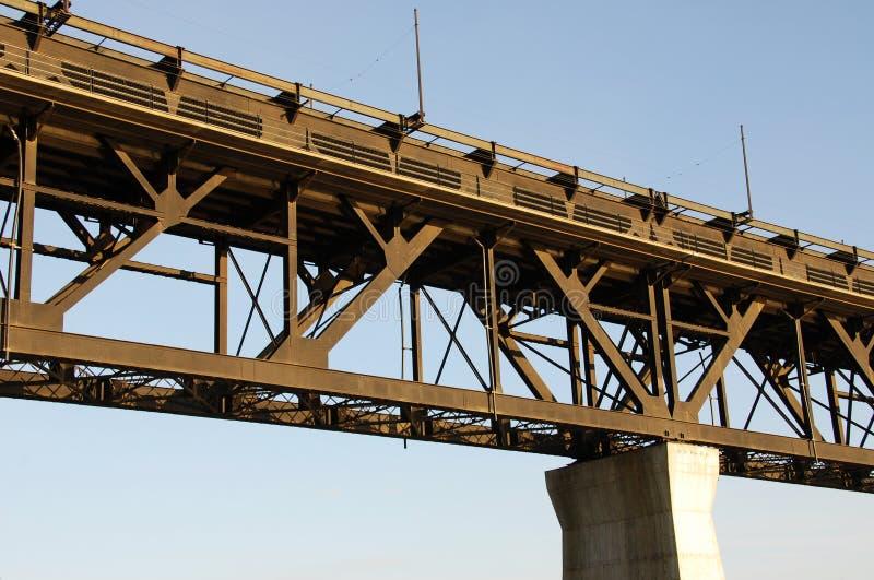 most Edmonton wysoki poziom fotografia stock