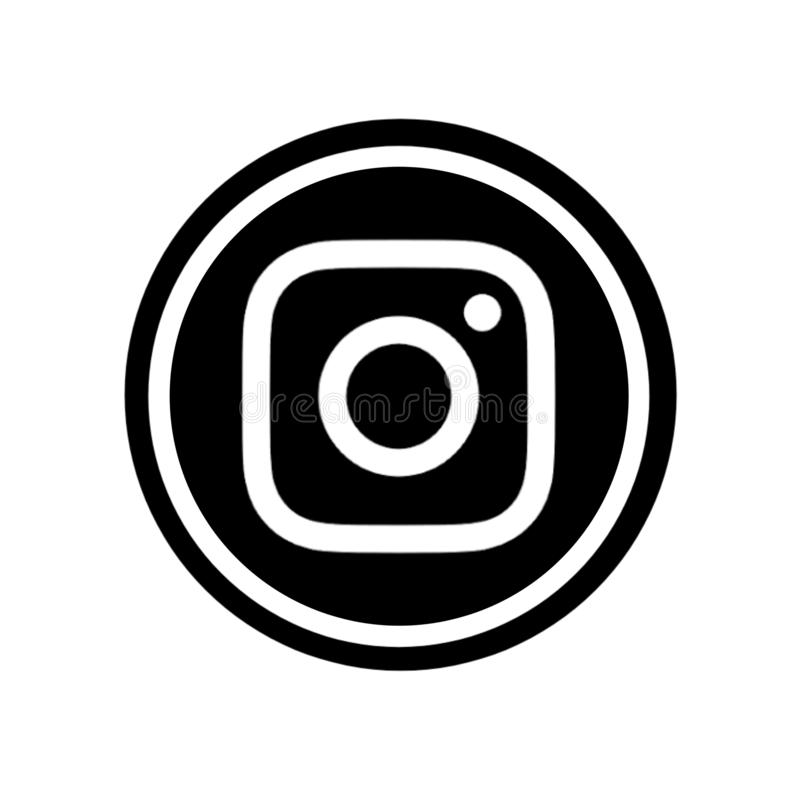 Famous social media icons. The most famous social media icons like Facebook Instagram Twitter Pinterest Google teligrm YouTube are combined in circle.and can be vector illustration