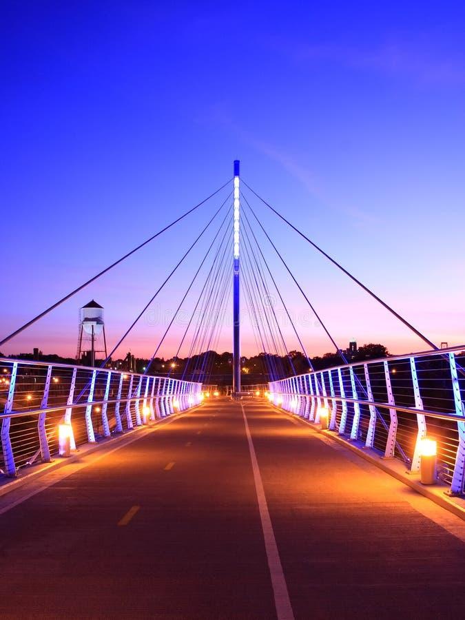most greenway środek miasta zdjęcia royalty free