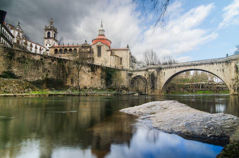 Most i katedra święty obrazy royalty free