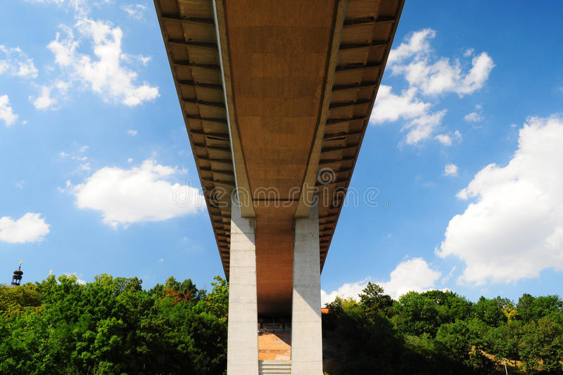 Download Most Important Viaduct In Prague, Bottom View Royalty Free Stock Photos - Image: 26447398