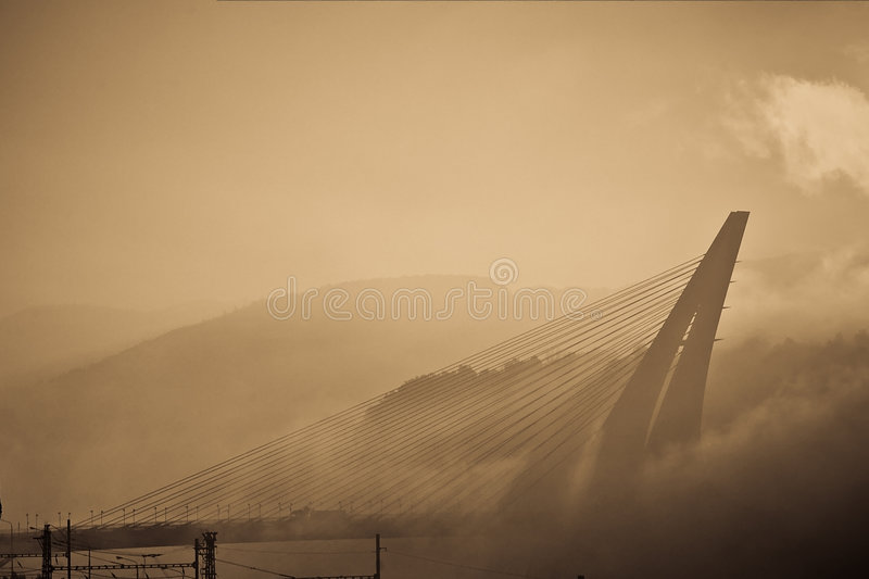 most jest marian fotografia stock