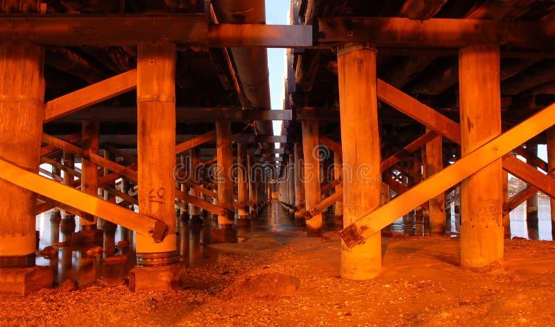 most mola poparcie drewna zdjęcia royalty free