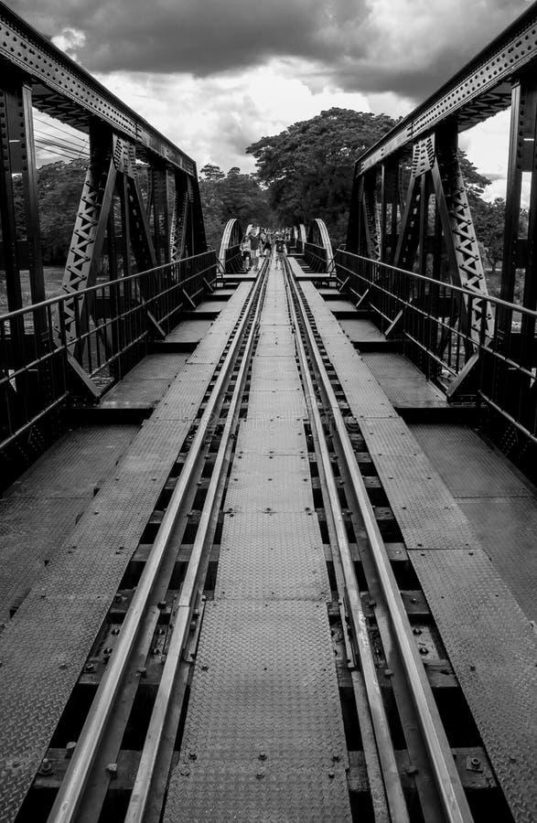 Most na Rzecznym Kwai zdjęcia royalty free