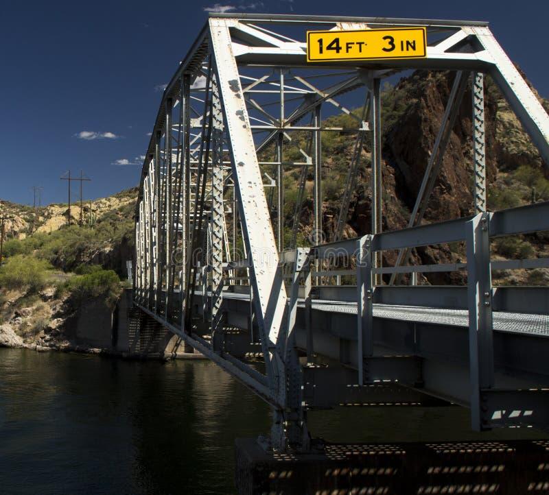 Most nad Apache jeziorem obrazy royalty free