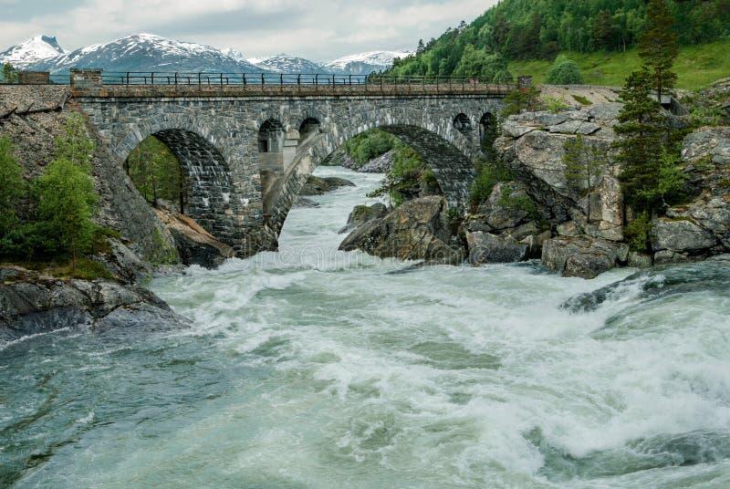 Most Nad Szorstką wodą zdjęcie stock