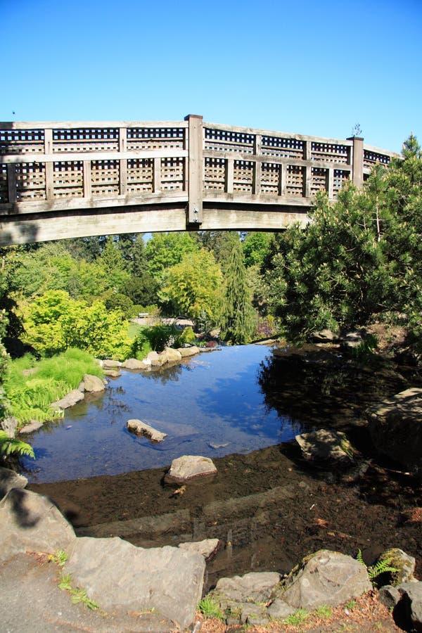 most nad wodą zdjęcia stock