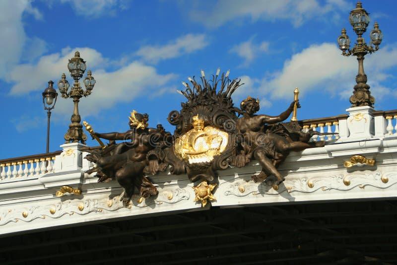 most Paryża obrazy stock