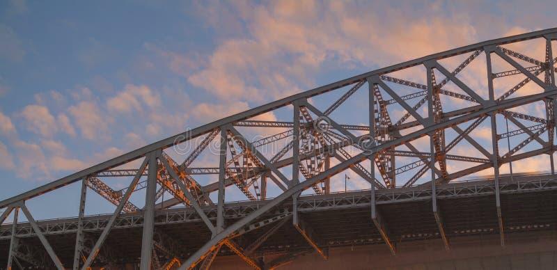 most podniebny zdjęcie stock