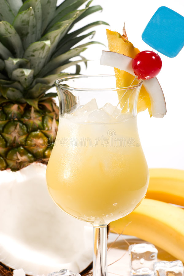 Most popular cocktails series - Pina Colada stock images