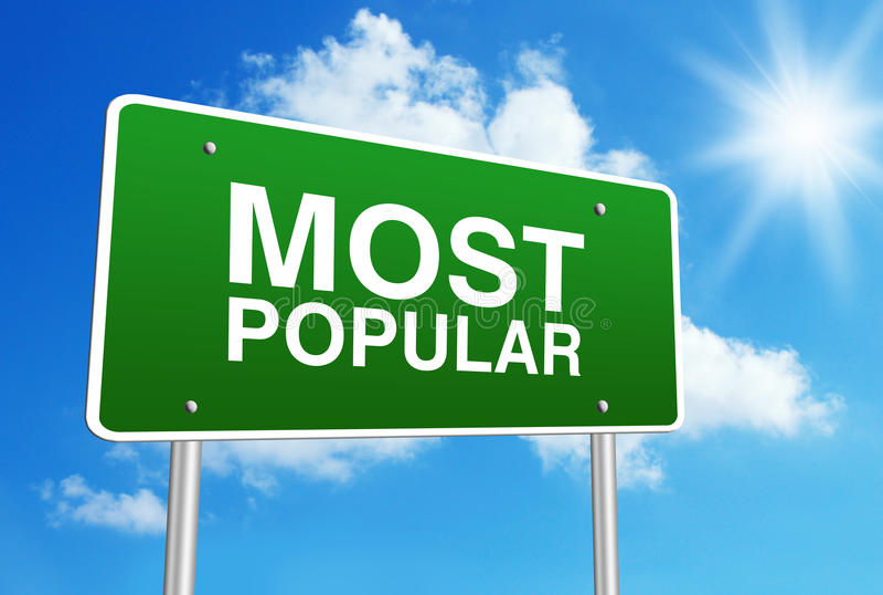 Most Popular stock photo