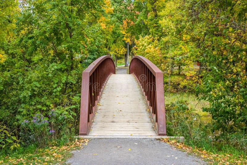 Most Przez obraz stock