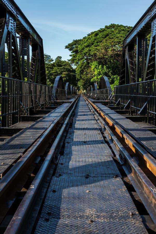 Most rzeczny Kwai zdjęcia stock