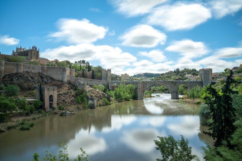 Most San Martin de Toledo Hiszpania zdjęcie stock
