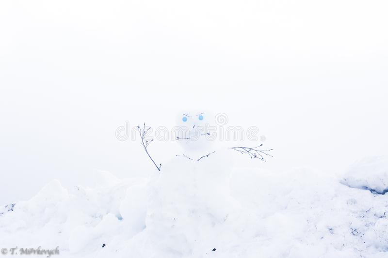 Scary Snowman stock photo. Image of gift, chilly, object - 28194202