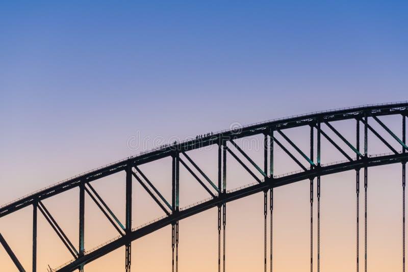 most schronienie sunset Sydney obrazy stock