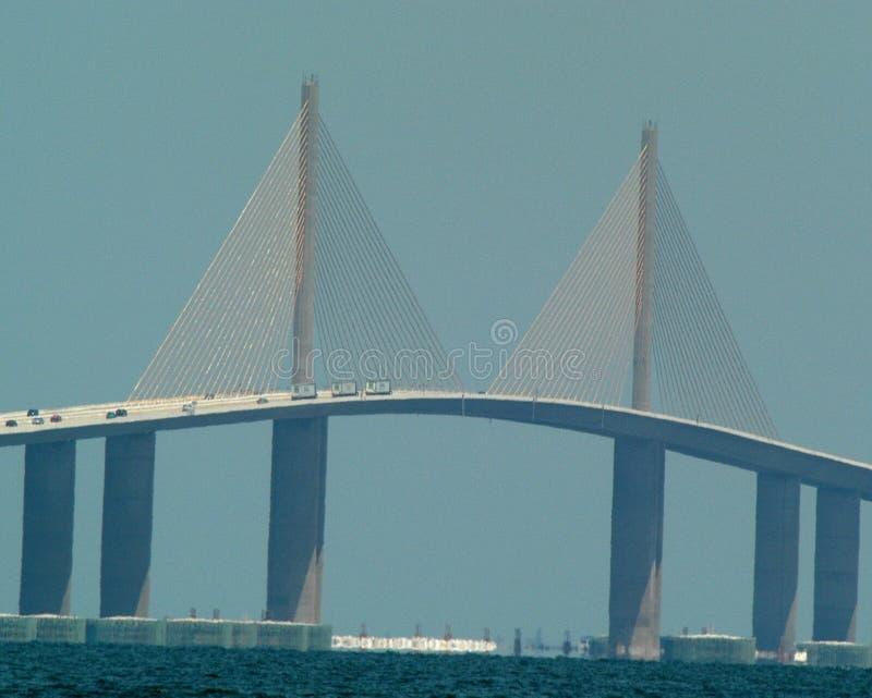 most skyway słońce obraz royalty free