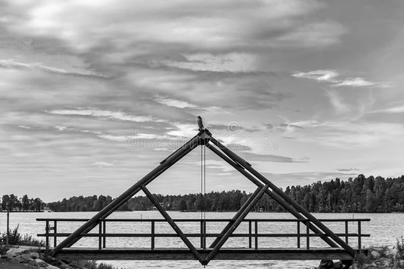 Most Stary zniszczony most zdjęcia royalty free