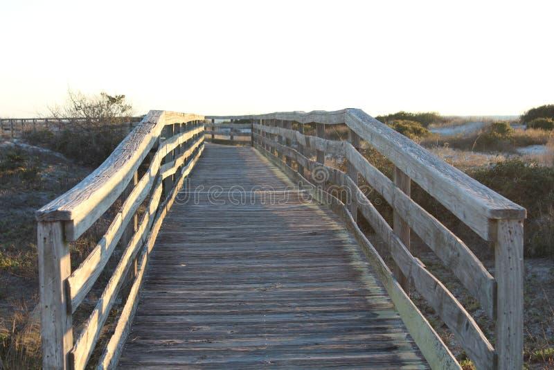 Most Stary zniszczony most zdjęcie stock