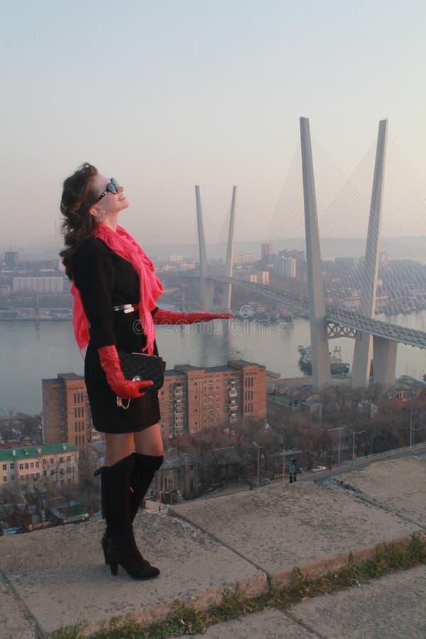Most Vladivostok obraz royalty free