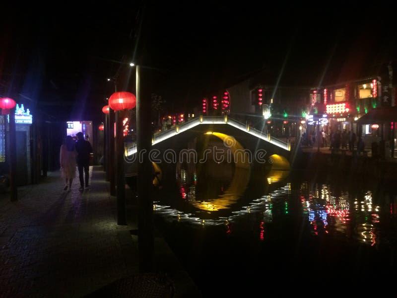 Most w antycznym mieście zdjęcia stock