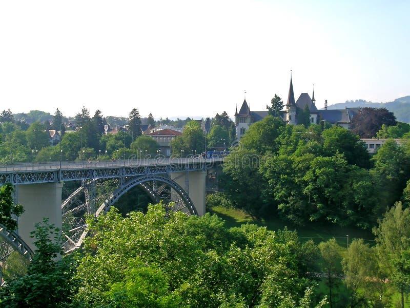 Most w Berne zdjęcie stock