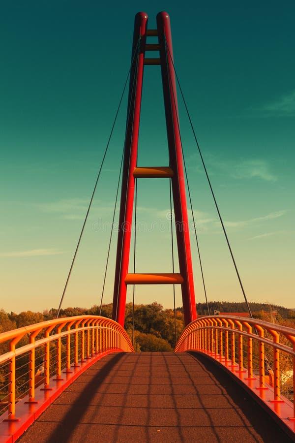 Most w Ilmenau zdjęcia stock