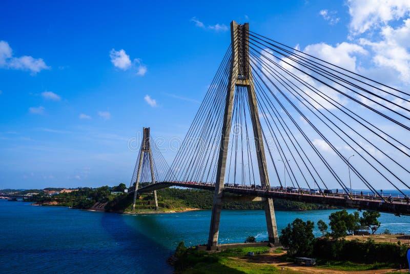 Most w Indonezja fotografia stock