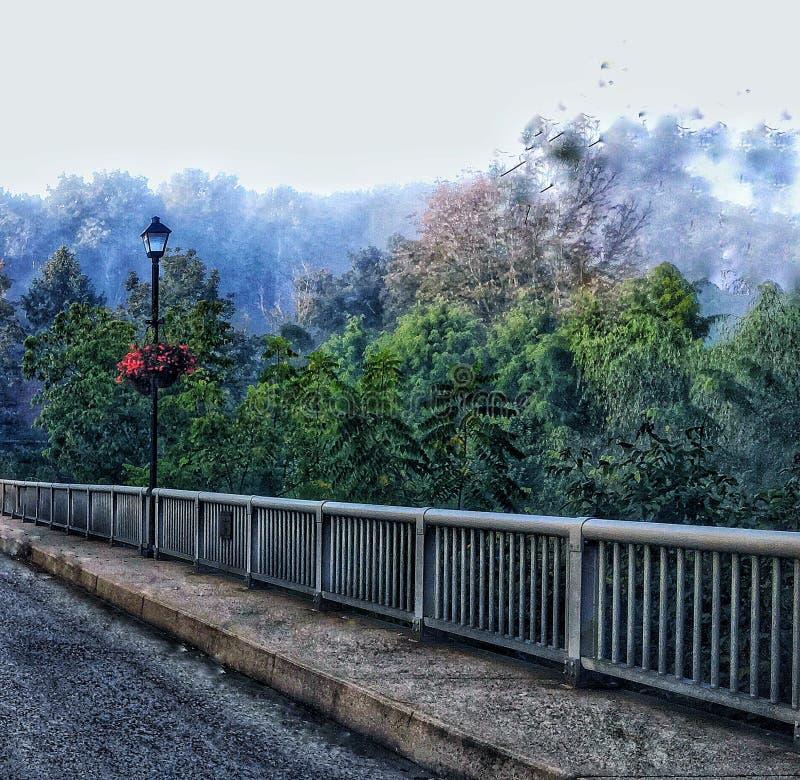 Most w Nowej nadziei, PA zdjęcie stock