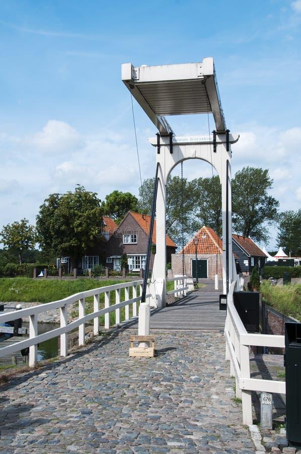 Most w Veere zdjęcie royalty free