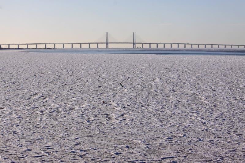 most woda lodowata nadmierna fotografia stock