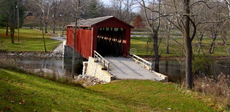 most zakrywający Indiana fotografia royalty free
