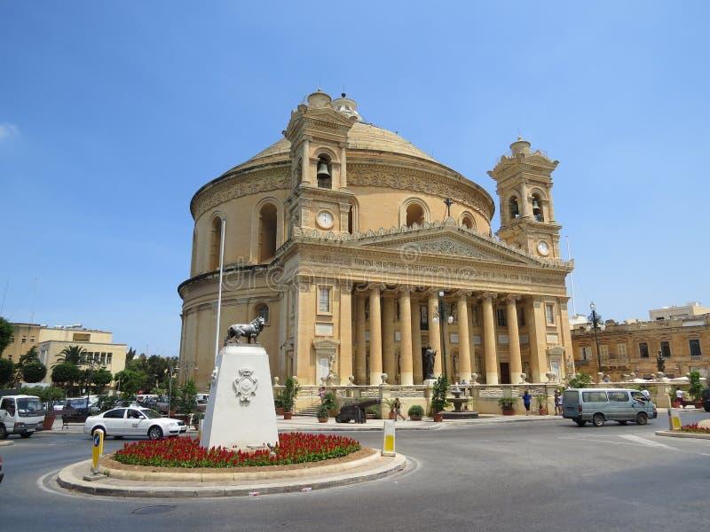 Mosta Rotunda στοκ φωτογραφίες