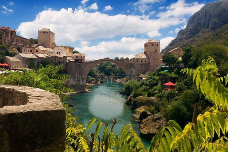 mostar παλαιός γεφυρών στοκ φωτογραφίες με δικαίωμα ελεύθερης χρήσης