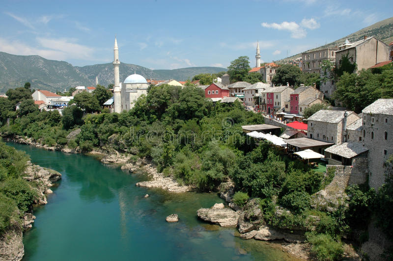 Download Mostar stock image. Image of bosnia, mostar, view, mosque - 15235877