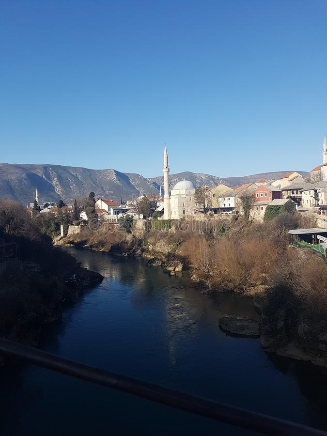 Mostar photographie stock