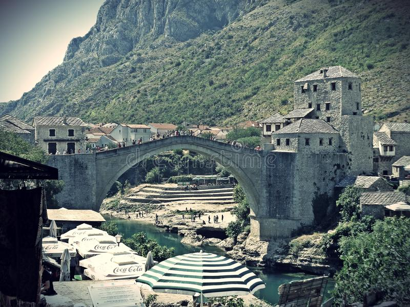 Mostar stock foto