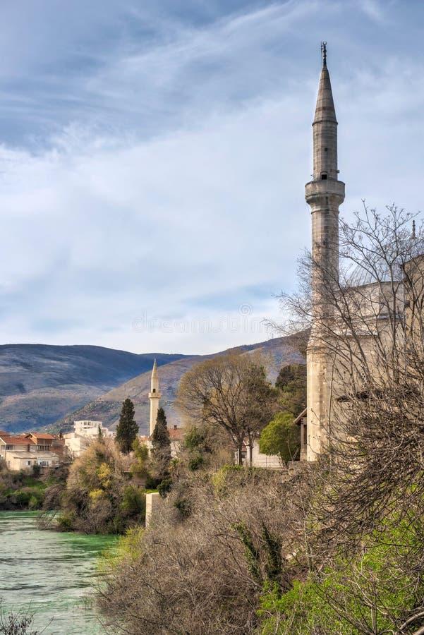 Mostar Bósnia imagem de stock