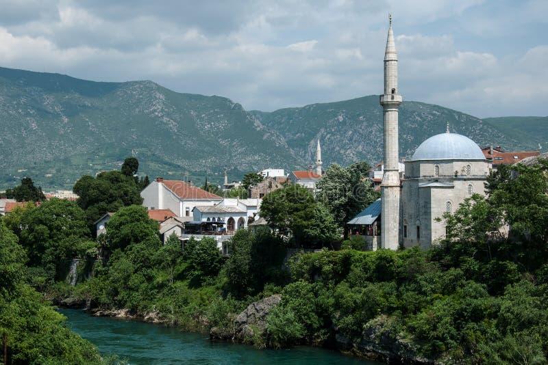 Mostar - Bósnia e Herzegovina fotografia de stock royalty free