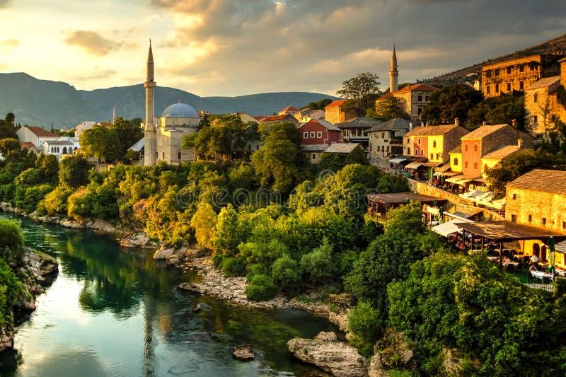 Mostar, Bósnia & Herzegovina fotos de stock