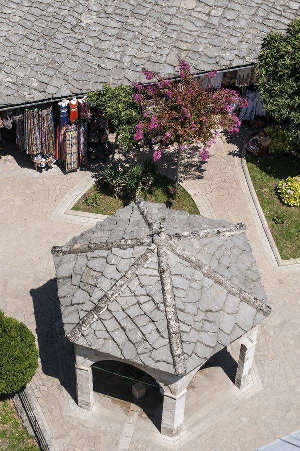 Mostar, Basar, Markt, Einkaufen, Koski Mehmed Pasha Mosque, Bosnien und Herzegowina, Europa, Islam, Religion, Ort der Verehrung lizenzfreie stockbilder
