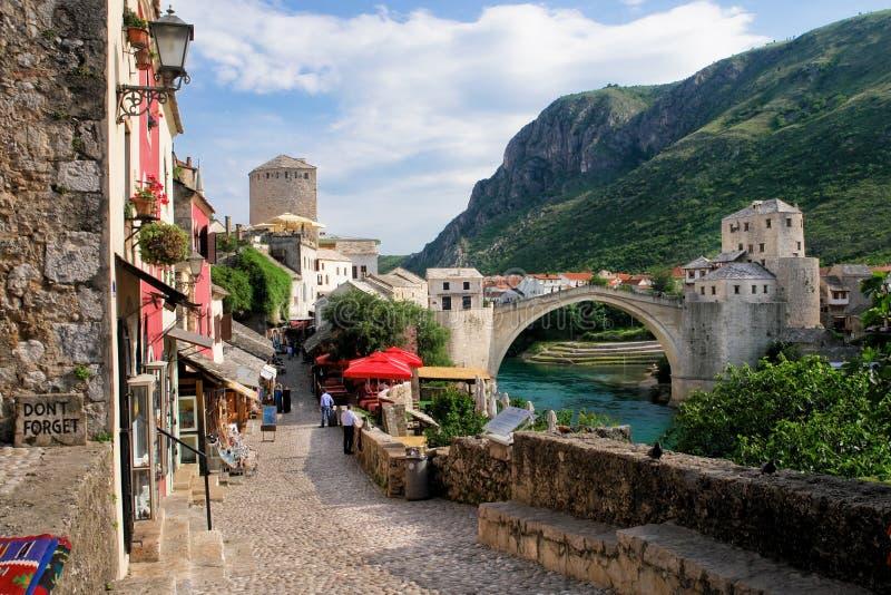 Mostar - Bosnia and Herzegovina. Mostar city - Bosnia and Herzegovina royalty free stock photo