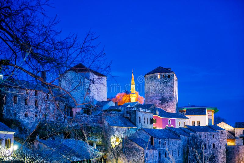 Mostar Bosnie photo stock