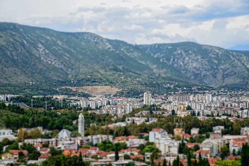 Mostar Bosnien och Hercegovina arkivbild